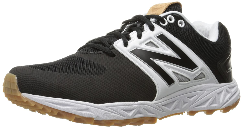 New Balance Men's 3000v3 Baseball Turf Shoes B019EEQ9ZW 12 2E US|Black/White