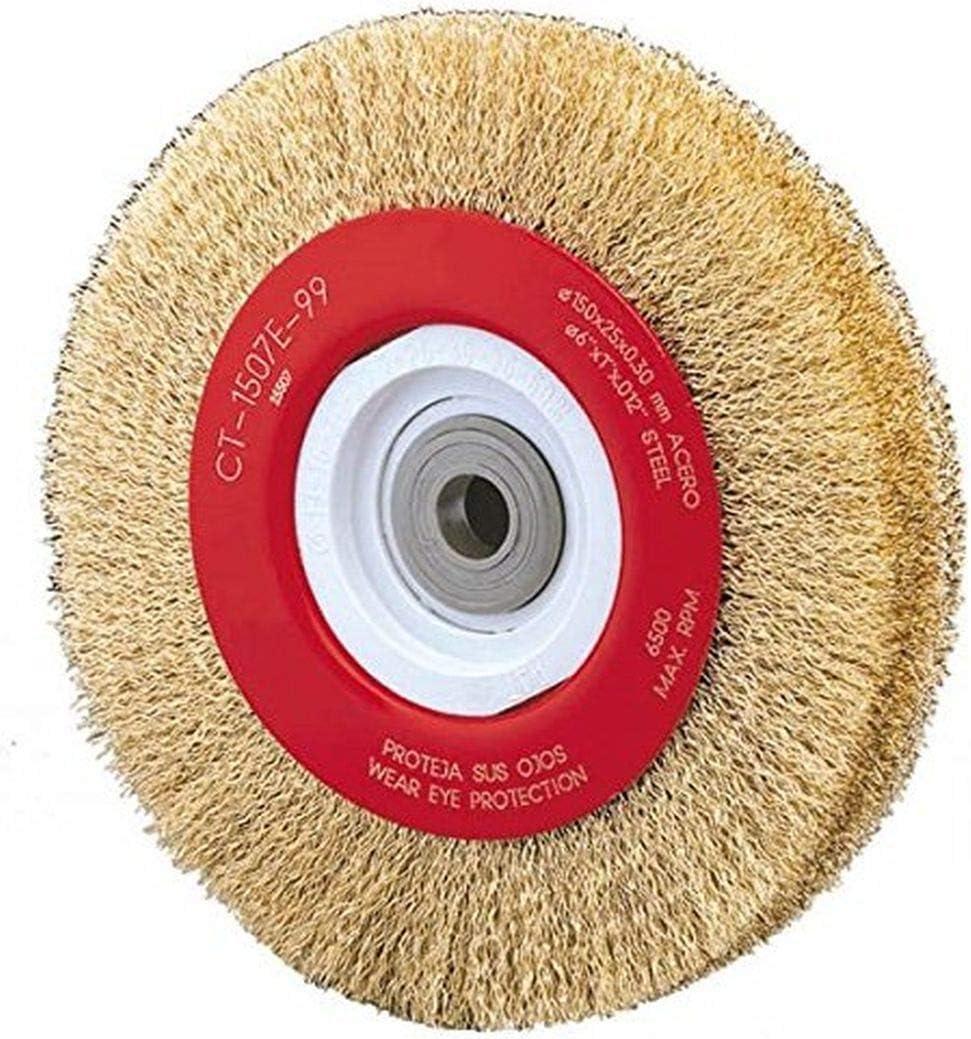 "Alfa Tools Wb67153 8"" X 0.71"" Crimped Wire Wheel"