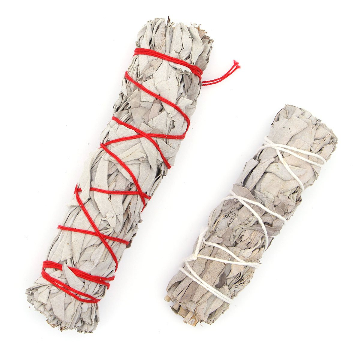 VORCOOL American California White Sage Smudge Stick (32g Single Bundle and Heavy Small Bundle)