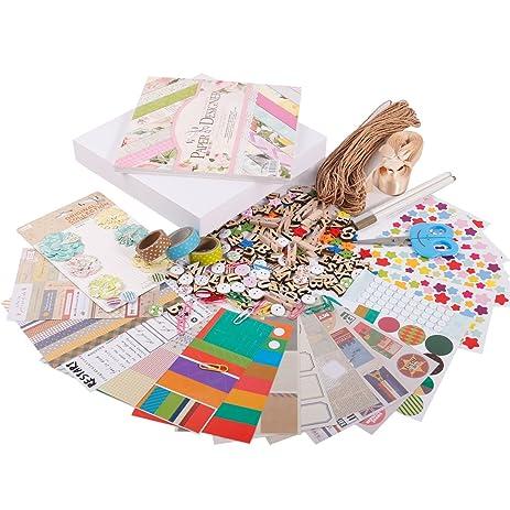 Amazon Facraft Scrapbook Supplies Kit For Scrapbooking