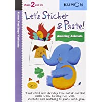 Let's Sticker & Paste! Amazing Animals: Ages 2 and Up