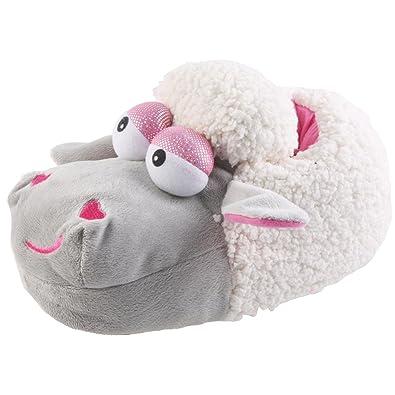 Plüsch Hausschuhe verliebte Schafe Tierhausschuhe, EU 39/41