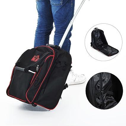 Homcom – Rodillo Pro Funda para bolsa de herramientas resistente mochila de almacenamiento organizador portátil mochila