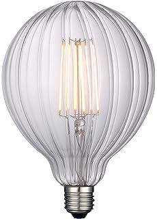 Bombillas LED vintage, filamento de rosca Edison E27, 4 W (equivalente a 40 W), regulables, luz blanca cálida, 400 lm, estilo…