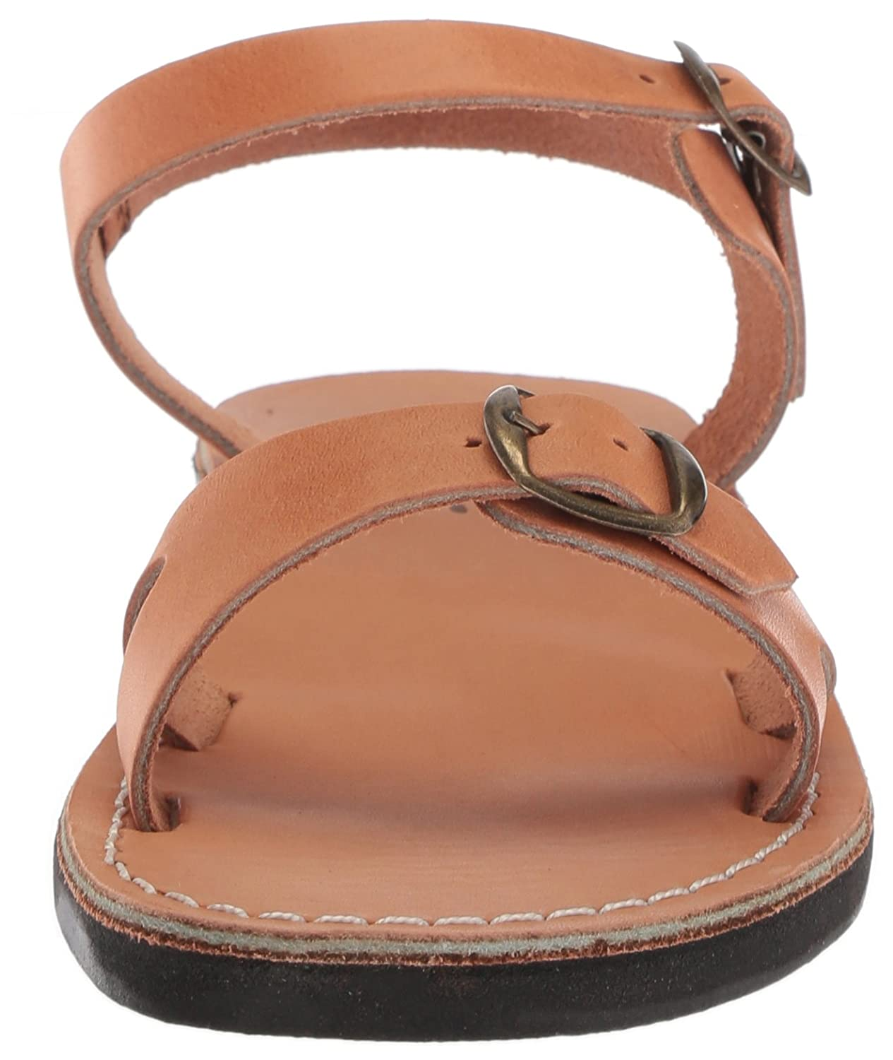 Jerusalem Sandals Women's Edna (6-6.5 Sandal B075KXDJZX 37 Medium EU (6-6.5 Edna US)|Tan 03f295
