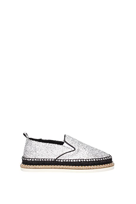 Kenzo Alpargatas para mujer *, color Plateado, talla 34: Amazon.es: Zapatos y complementos
