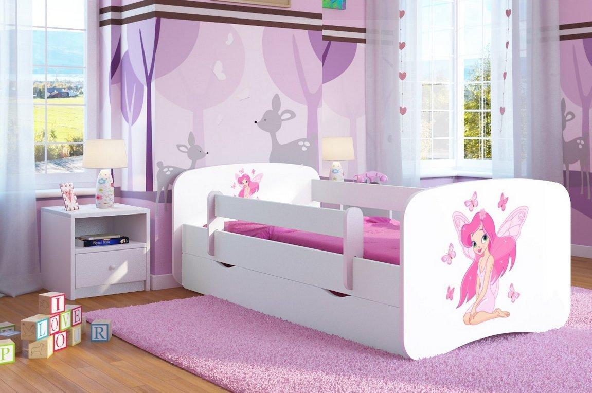 Sweet Dreams 5901583547584 Kinderbett, Holz, weiß, 160 x 80 x 60 ...