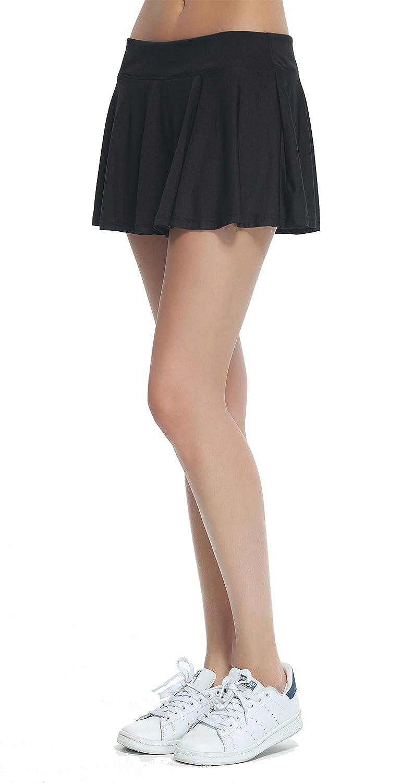 Cityoung Women's Active Skort Lightweight Running Skirt Club Mini Tennis Shorts Inner 0409hf02n-US2
