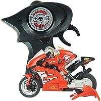 PIXNOR Radiocontrol Motocicleta Control Remoto Vehículo Modeloe Juguete