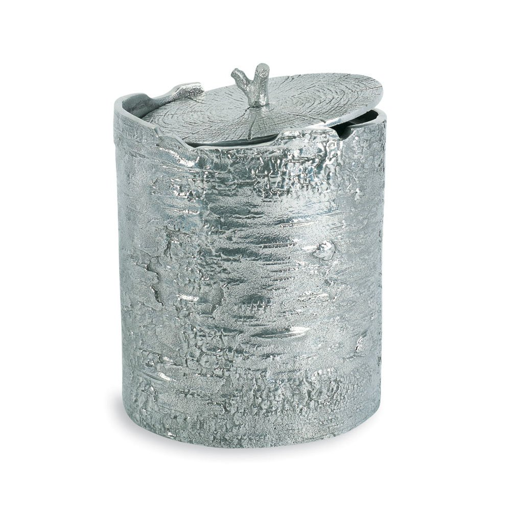 Michael Aram Bark Ice Bucket , Silver
