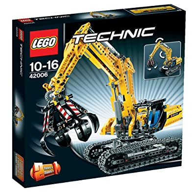 LEGO Technic 42006 Excavator (720pcs): Toys & Games
