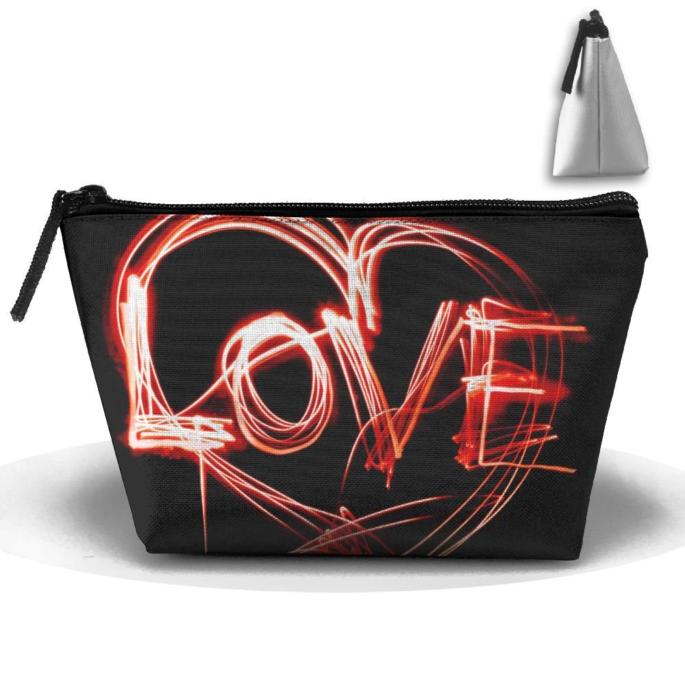 L-O-V-E High-capacity Storage Bag Multi-purpose Storage Bag Portable Bag Trapezoidal Storage Bag