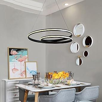 5151BuyWorld Kronleuchter Moderne Led Pendelleuchten Leuchte Suspendu  Leuchten Für Wohnzimmer Esszimmer Lampara Colgante De Techo Hängelampe