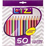 LolliZ Cul-50050 Colored Pencils 50/Pkg