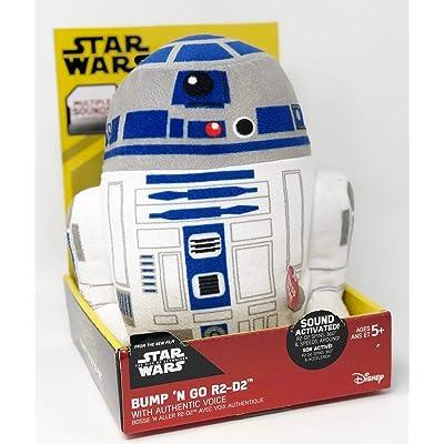 Star Wars Bumpngo Action Plush (R2-D2): Toys & Games