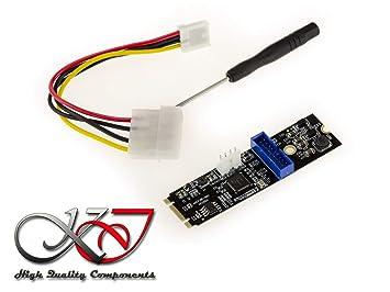 KALEA-INFORMATIQUE. Tarjeta Controlador M.2 (M2 NGFF PCIe M ...