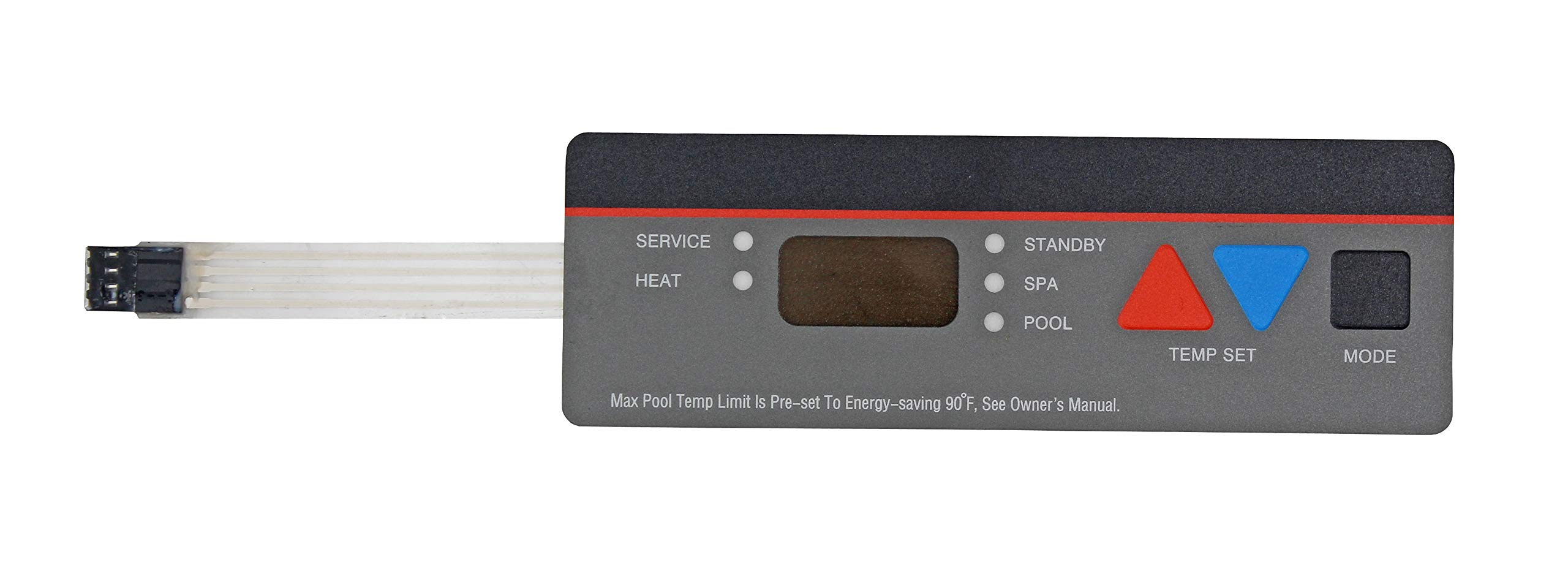 State Warehouse Pool Heater Replacement Control Panel Keypad Membrane Switch Replace for Hayward Compatible All H-Series Pool Heaters;Fits H100ID1 H150 H150FDN H150FDP H200FDN Series by State Warehouse