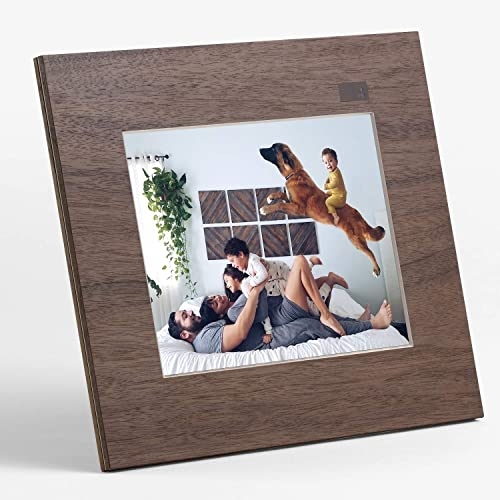 Aura Digital Photo Frame, 10 HD Display New 2019, 2048 x 1536 Resolution with Free Cloud Storage, Oprah s Favorite Things List 2x, Sawyer Shale WiFi Picture Frame