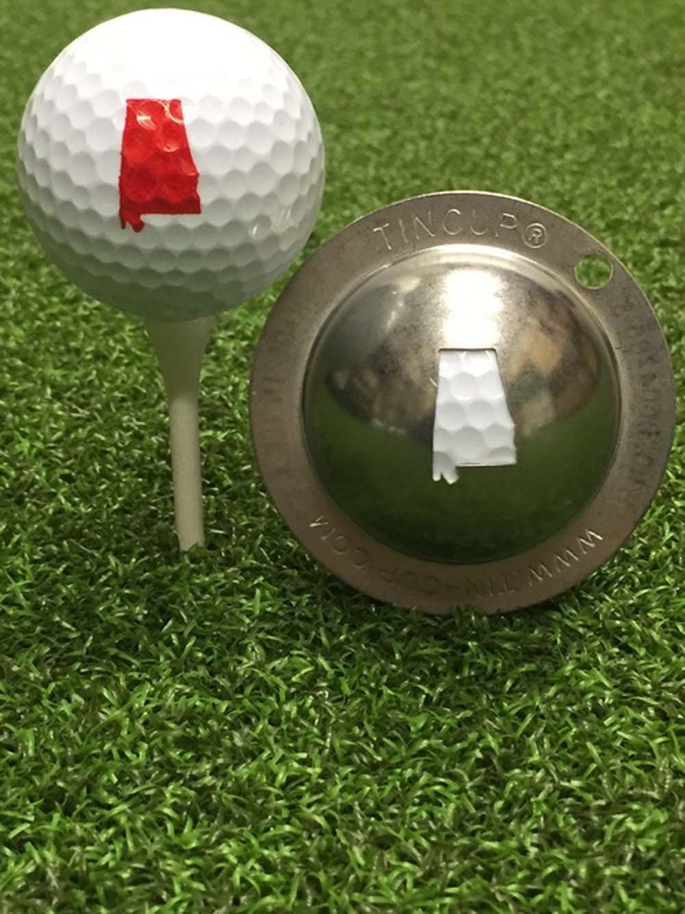 Tin Cupアラバマゴルフボールカスタムマーカー線形ツール   B0797MB7LJ
