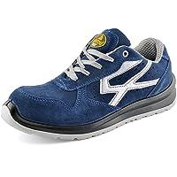SAFETOE Men's Safety Shoes - L7328 Lightweight Sport Composite Toe Work Shoes