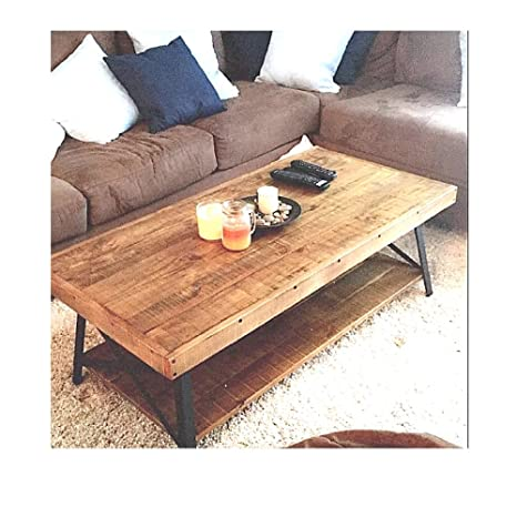 Awe Inspiring Amazon Com Rustic Industrial Coffee Table Farmhouse Modern Gamerscity Chair Design For Home Gamerscityorg