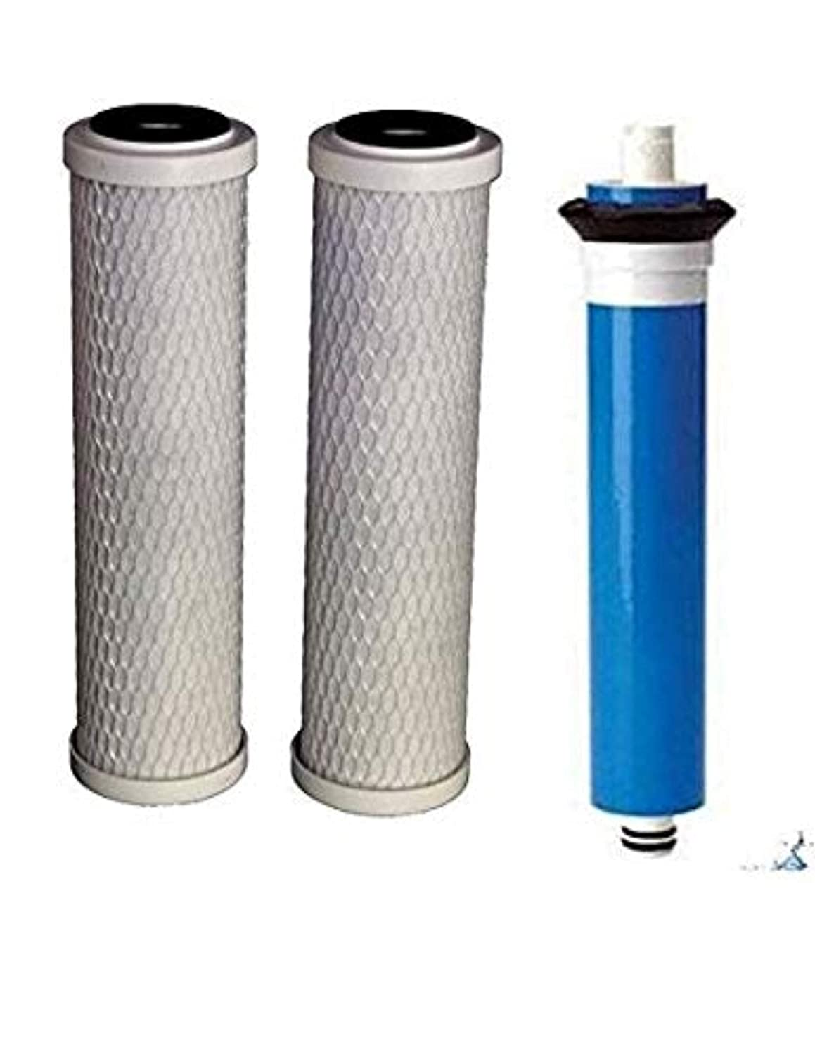 CFS COMPLETE FILTRATION SERVICES EST.2006 Compatible with 18 GPD RO Reverse Osmosis GE Membrane FX12M Smart Water w/Pre & Post Filters