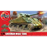 Airfix A01303 Sherman M4 MK1 Tank 1:76 Scale Series 1 Plastic Model Kit