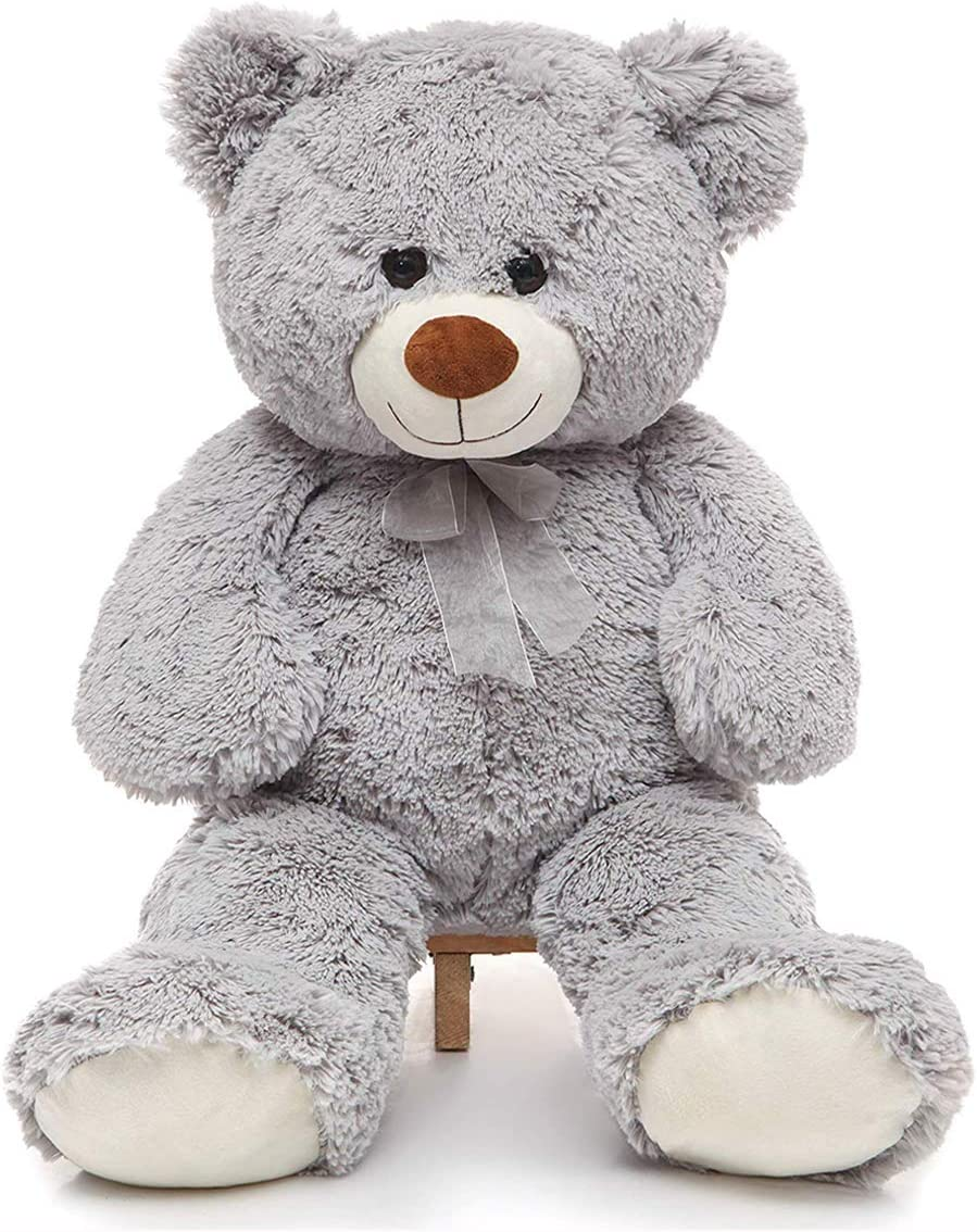 "GIANT JUMBO TEDDY BEAR 47/"" PLUSH STUFFED ANIMAL SOFT TOY HUGE LARGE GIFT BEST"