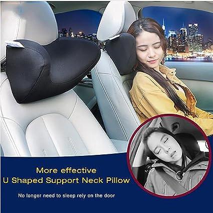 Universal Memory Foam Car Seat Neck Pillow U style Auto Headrest Pillow Support
