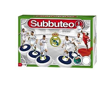 Hasbro Juegos en Familia Subbuteo Real Madrid, Juego de Mesa ...