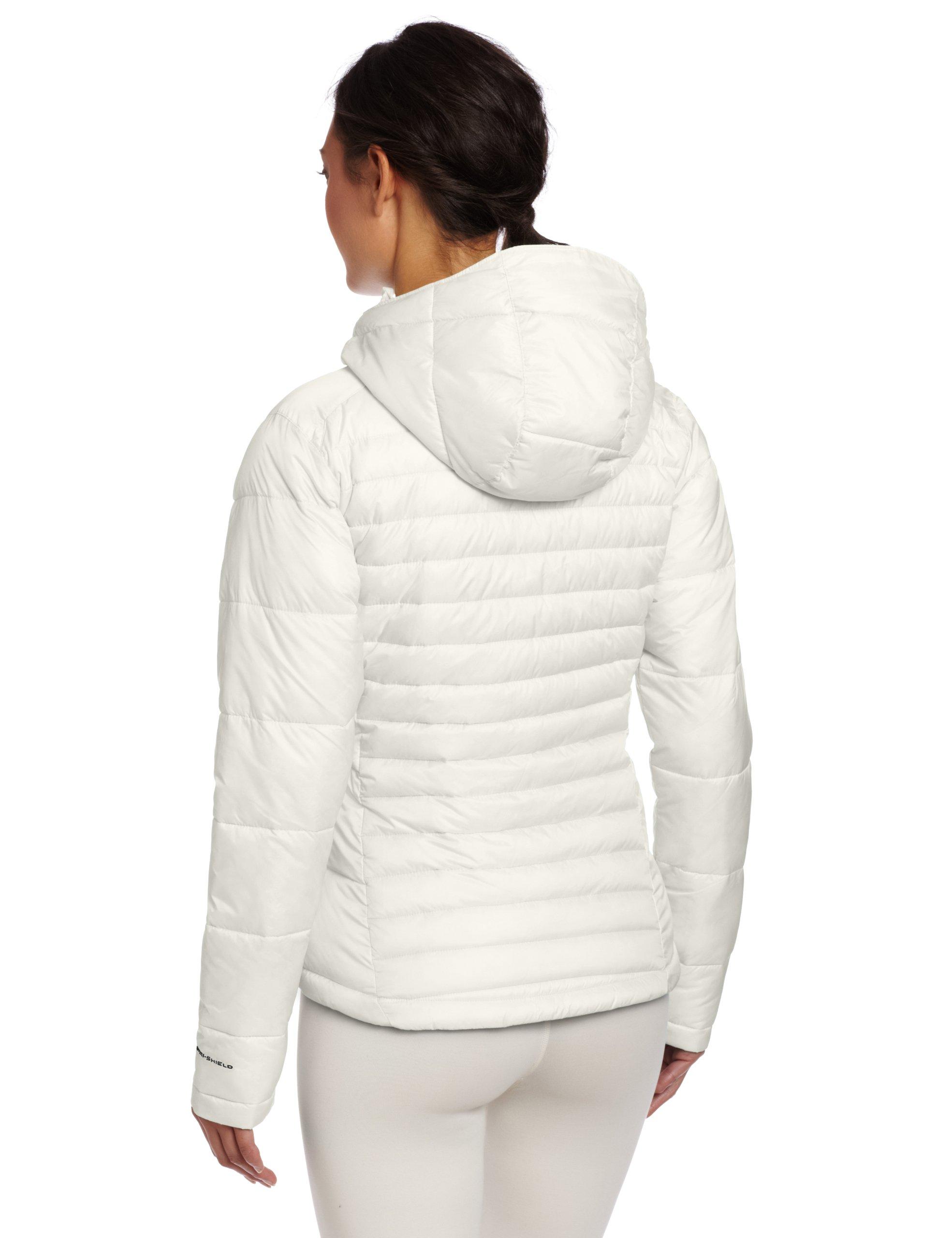Columbia Women S Powder Pillow Hybrid Jacket Astr