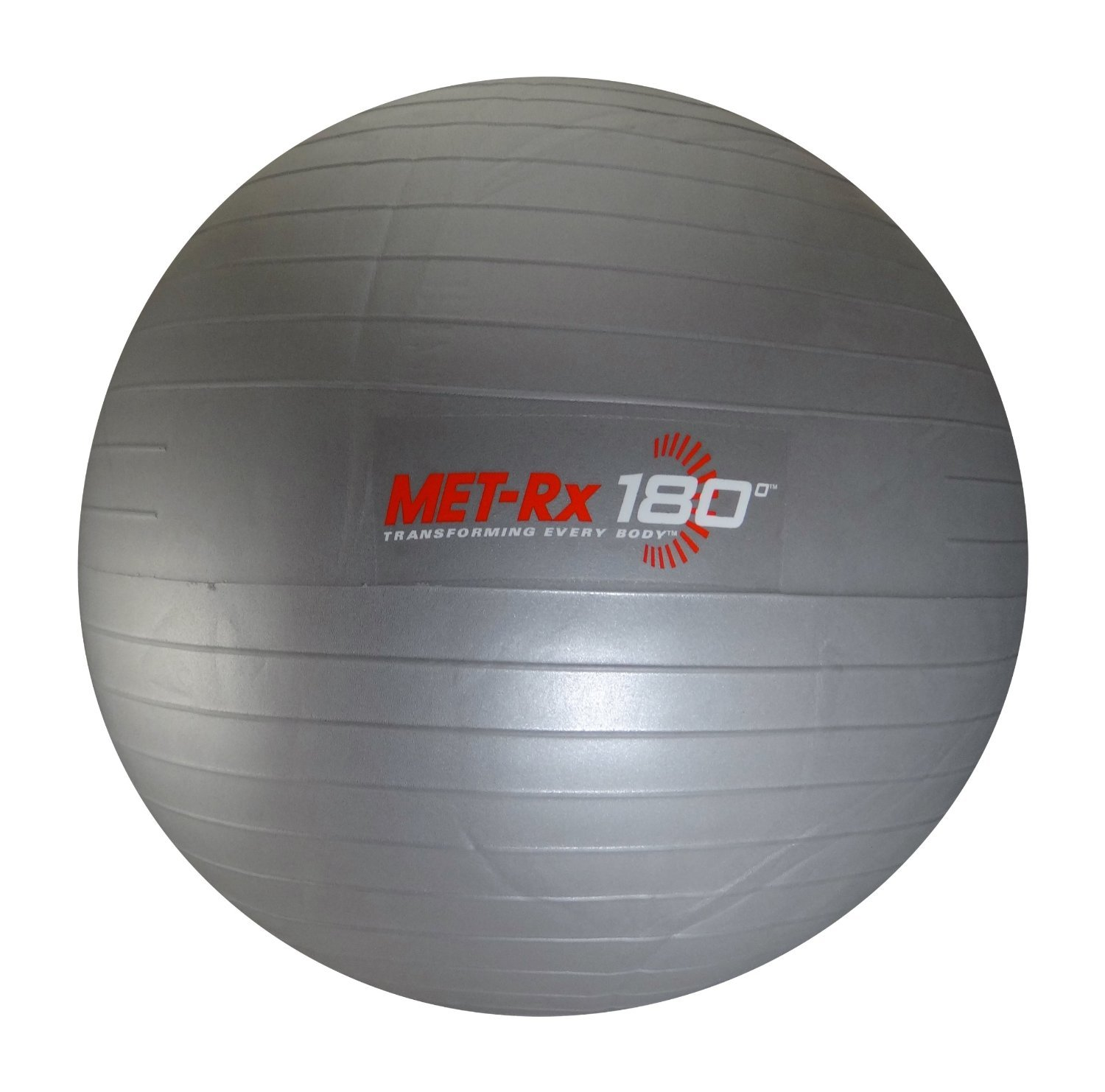 Met Rx Fitness Exercise Ball & Level 2 Resistance Exercise Bands Set