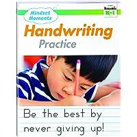 Mindset Moments: Manuscript Handwriting Practice Gr. K-1 Reproducible