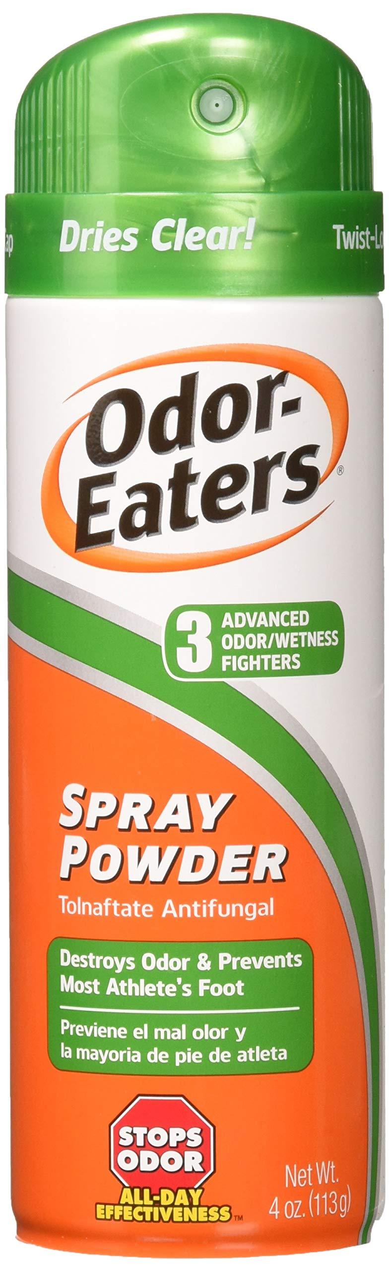 Odor-Eaters Foot Spray Powder, 4 oz, Pack of 2