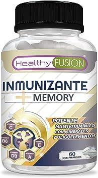 Complejo multivitamínico a base de vitaminas y minerales | Multivitamínico con vitaminas C, E, B3, B5,