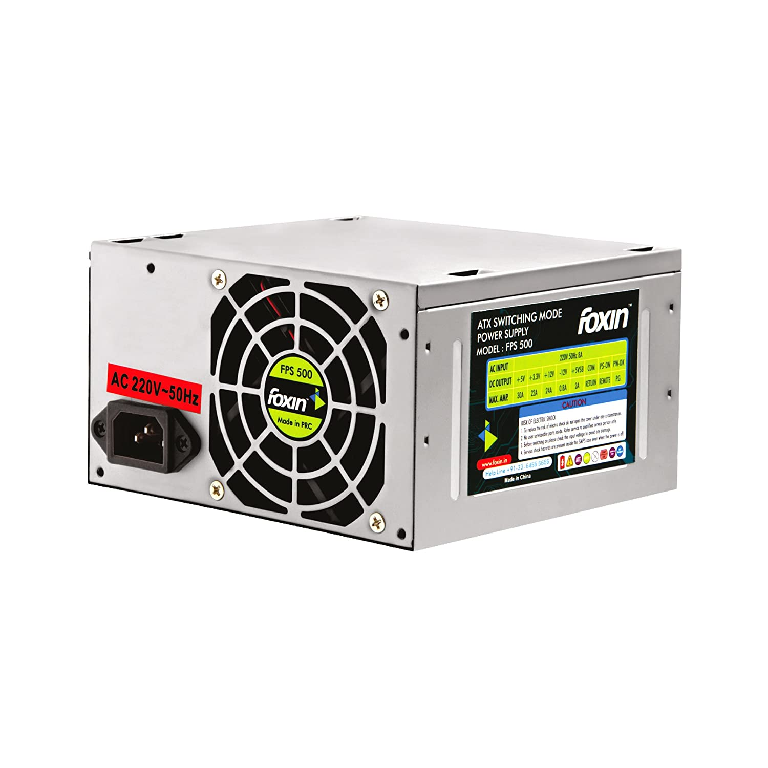 Amazon.in: Buy Foxin FPS 500S SMPS & Power Supply Online at Low ...