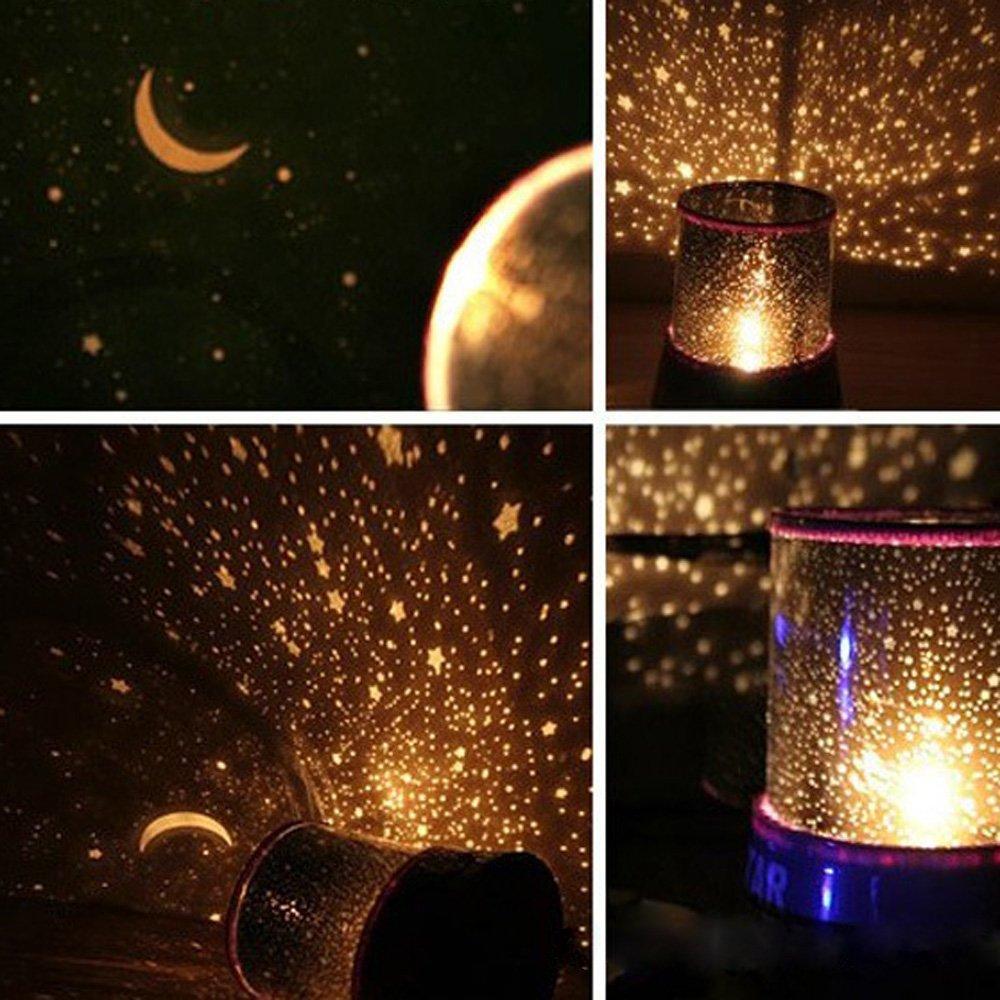 Star master projector lamp - Romantic Sky Star Master Projector Lamp Led Cosmos Night Light Amazing Gift Amazon Ca Books