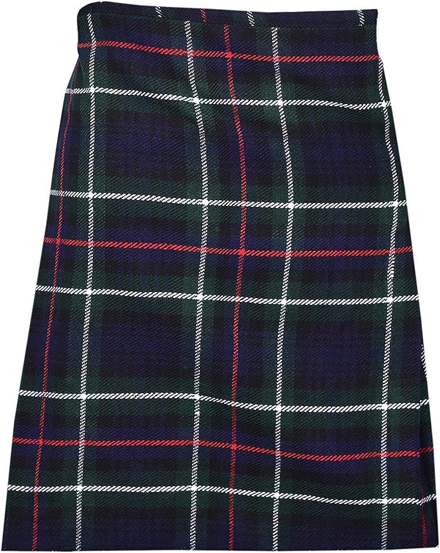 1-14 Years Made of 100/% Acrylic Wool Scottish Tartan Kilt for Children