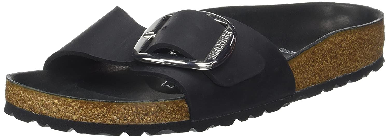 Birkenstock Madrid Big Buckle, Mules para Mujer: Amazon.es: Zapatos y complementos