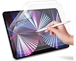 ESR [2-Pack] Protetor de tela Paper-Feel para iPad Air 4 2020 10,9 polegadas e iPad Pro 11 (2021/2020/2018) [Suporta lápis/lá