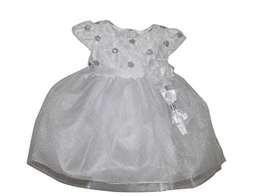 ca1365abfe Christening Baptism Blessing Dress for Baby Girl Toddler White - White -   Amazon.co.uk  Clothing