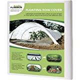 FLARMOR Floating Row Cover - 10x50ft Fabric Blanket- Protects Outdoor Plants and Vegetables from Frost 0.55oz, Sun, and Insects- Freeze Protection- Covers Outdoor Plants Against Harsh Weather