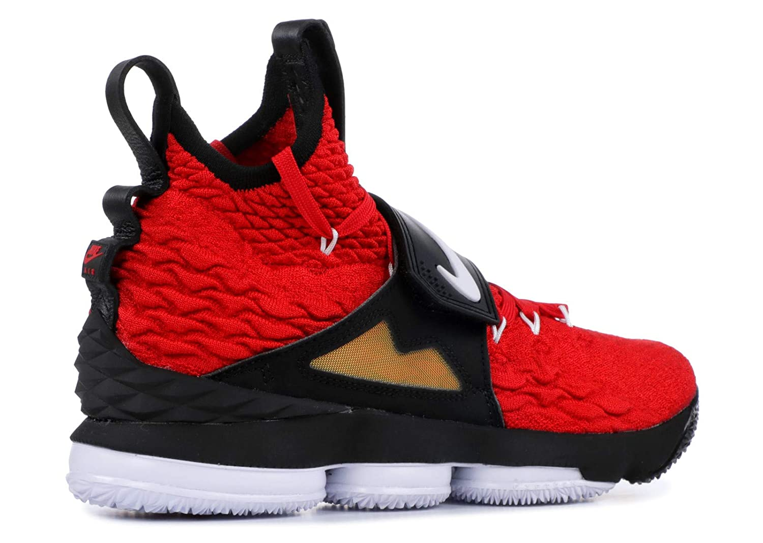 competitive price a944b 5d1ec Nike Lebron 15 XV Red Diamond Turf Prime Deion Sanders Size 10.5 AO9144-600