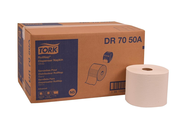 Amazon.com: Tork DR7050A Advanced RollNap Dispenser Napkin, 1-Ply, 7.5