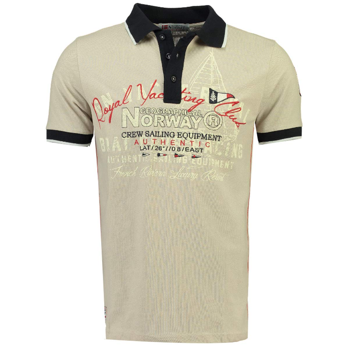 Geographical Norway Polo DE Hombre KOYLING by (XL, Beige): Amazon ...