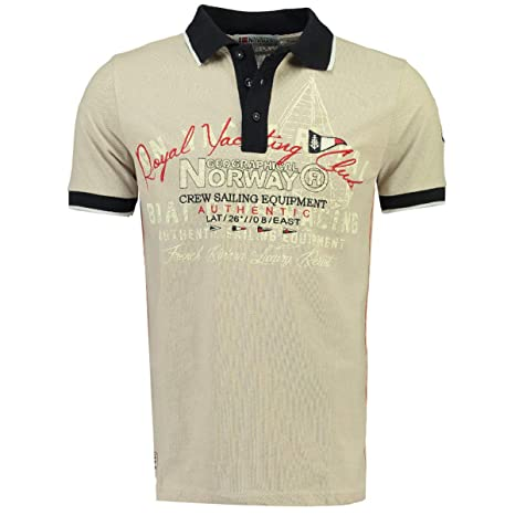 Geographical Norway Polo DE Hombre KOYLING by (L, Beige): Amazon ...