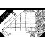 Amazon Price History for:Coloring for Women Desk Pad Calendar