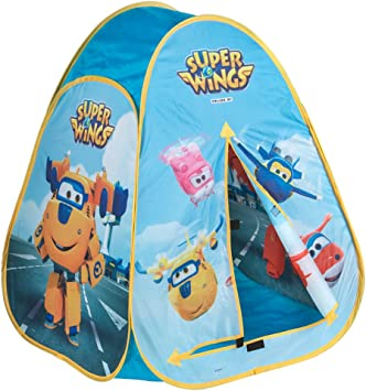 Super Wings - Tienda camping Pop-Up (ColorBaby 77019)