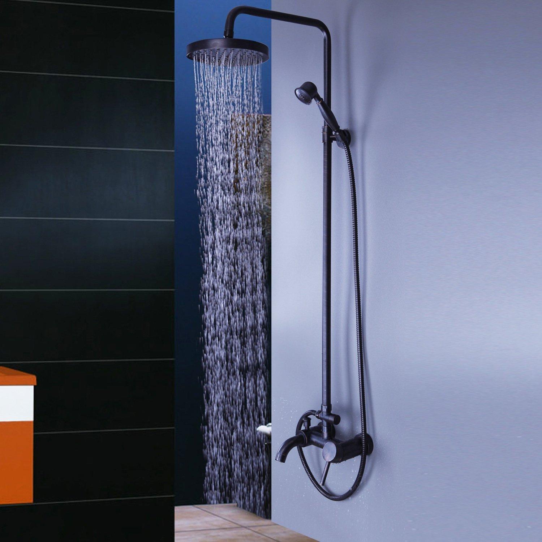 Amazon.com: Lightinthebox Antique Shower System 8 inch shower head 3 ...