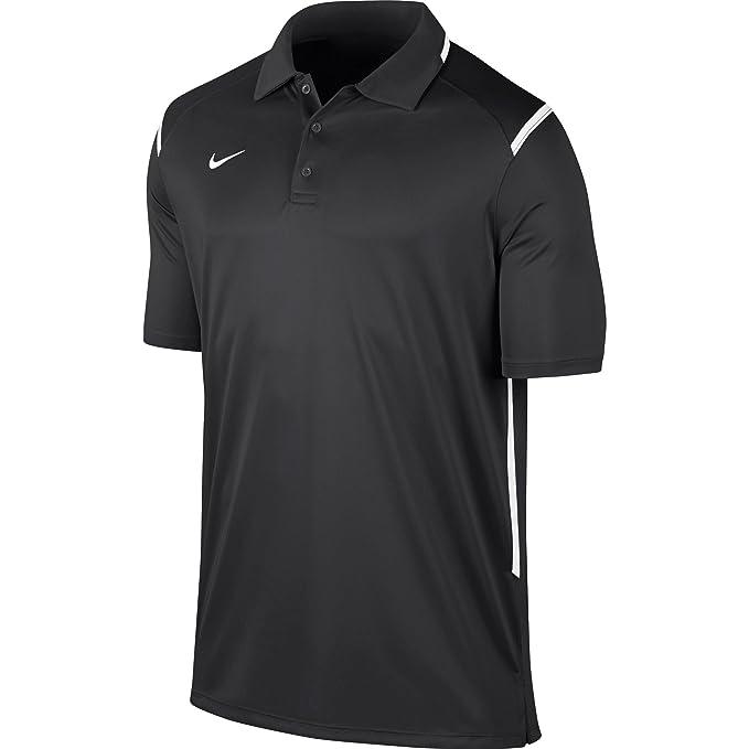e67db040d7203b New Nike Men s Team Gameday Polo Shirt TM Anthracite TM White TM White Small